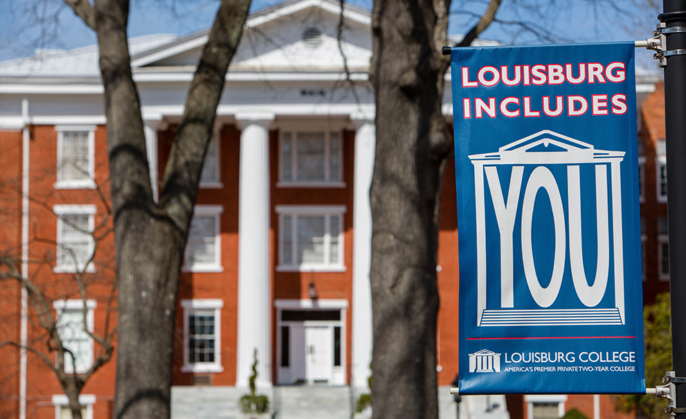 louisburg includes you banner