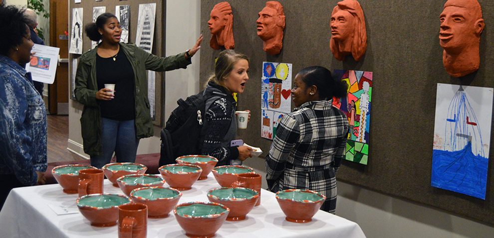Student Art Show reveals thoughtful works of 'listening'