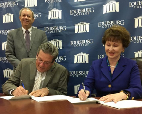 Louisburg College, NCICU Sign Agreement Improving the Transfer Process